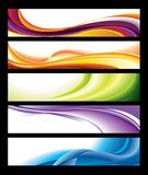 Horizontal Banner Collection Royalty Free Stock Photography