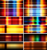 Horizontal Banner, only gradient Stock Images