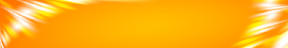 The Horizontal banner. Stock Image