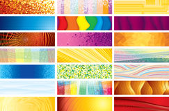 Horizontal Banners Royalty Free Stock Images