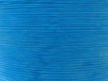 Horizontal bar of bright blue objects royalty free stock photo