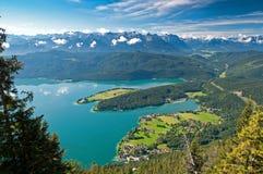 Horizontal bavarois Image libre de droits