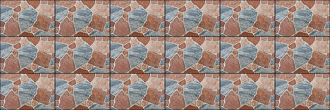 horizontal beautiful multicolor tiled stone for pattern royalty free stock photos