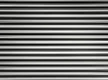 Horizontal black and white interlaced tv lines abstraction backg Stock Photos