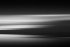 Horizontal black and white landscape abstraction Royalty Free Stock Images