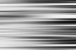 Horizontal black and white motion blur panels background. Hd Stock Photography