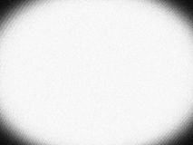 Horizontal black and white vignette tv screen with noise background Royalty Free Stock Photography