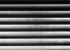 Horizontal black and white vintage metall texture background Stock Photography