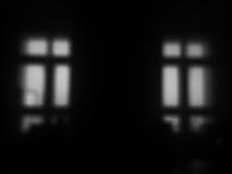 Horizontal black and white windows bokeh background Royalty Free Stock Photo