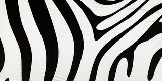 Horizontal black and white zebra texture background Stock Photo
