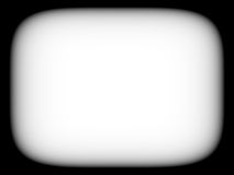 Horizontal blank empty black and white retro tv screen abstracti Royalty Free Stock Photo