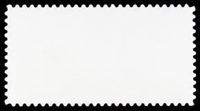 Horizontal Blank Postage Stamp Stock Image