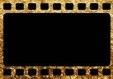 Horizontal blank tranitional retro film frame template backgroun. The horizontal blank tranitional retro film frame template background Stock Photo