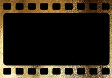 Horizontal blank tranitional retro film frame template. The horizontal blank tranitional retro film frame template background Royalty Free Stock Images