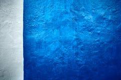 Horizontal bleu-foncé de texture grunge Photos stock