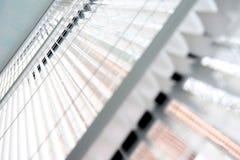 Horizontal blinds Stock Image