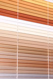 Horizontal blinds Stock Images