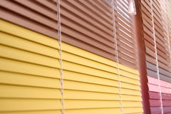 Horizontal blinds Stock Image
