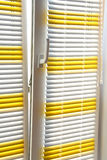 Horizontal blinds Royalty Free Stock Photo