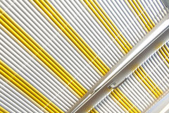 Horizontal blinds Stock Photography