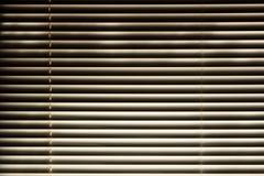 Horizontal blinds Royalty Free Stock Image