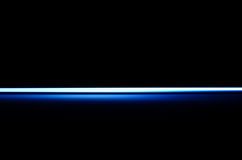 Horizontal blue blast beam illustration background. Hd Stock Photography