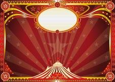 Horizontal Blue circus background. An horizontal circus background for your show Stock Photos