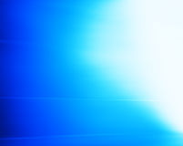 Horizontal blue glow with motion blur background Royalty Free Stock Photography