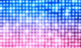 Horizontal blue and pink star shaped lamps texture background. Hd orientation vivid vibrant bright spacedrone808 color colorful rich composition design concept stock photos