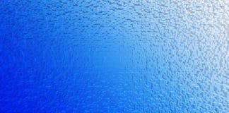 Horizontal blue white gradient cubes background Royalty Free Stock Photos