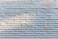White facade of the house. Horizontal brick wall background, white facade of the house royalty free stock photos