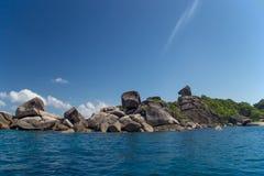 Horizontal côtier de mer Photo libre de droits