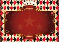 Horizontal Cards background Stock Photo