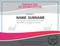 Horizontal certificate template,diploma,Letter size ,vector royalty free illustration