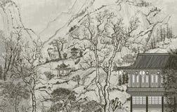 Horizontal chinois Image libre de droits