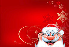 Horizontal Christmas background Stock Photography