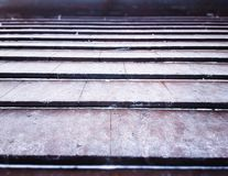 Horizontal city granite stairs background Royalty Free Stock Photos