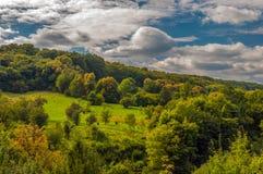 Horizontal coloré Photo libre de droits