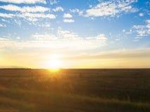 Horizontal coloré d'été Image libre de droits
