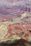 Horizontal coloré de gorge grande Image libre de droits