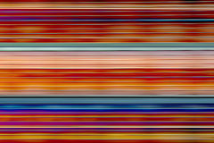 Horizontal color stripes Royalty Free Stock Images