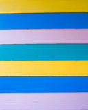 Horizontal color stripes wallpaper. Of modern house Stock Images