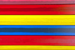 Horizontal colorful boards Royalty Free Stock Images