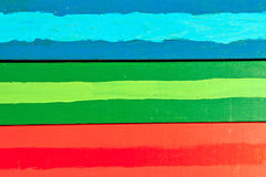 Horizontal colorful boards Royalty Free Stock Image