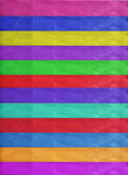 Horizontal colorful stripes ribbons background Royalty Free Stock Image