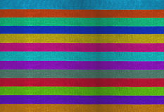 Horizontal colorful stripes ribbons background Stock Photography