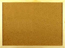Horizontal corkboard Royalty Free Stock Photos