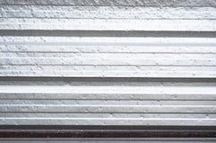 Horizontal corrugated metal Royalty Free Stock Images