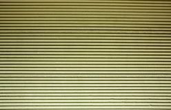 Green tinted corrugated wall Royalty Free Stock Image