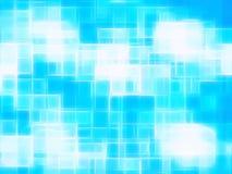 Horizontal cyan canvas texture element Royalty Free Stock Photo